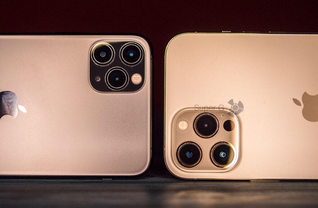 Камеры iPhone 12 Pro Max больше, чем в iPhone 11 Pro Max