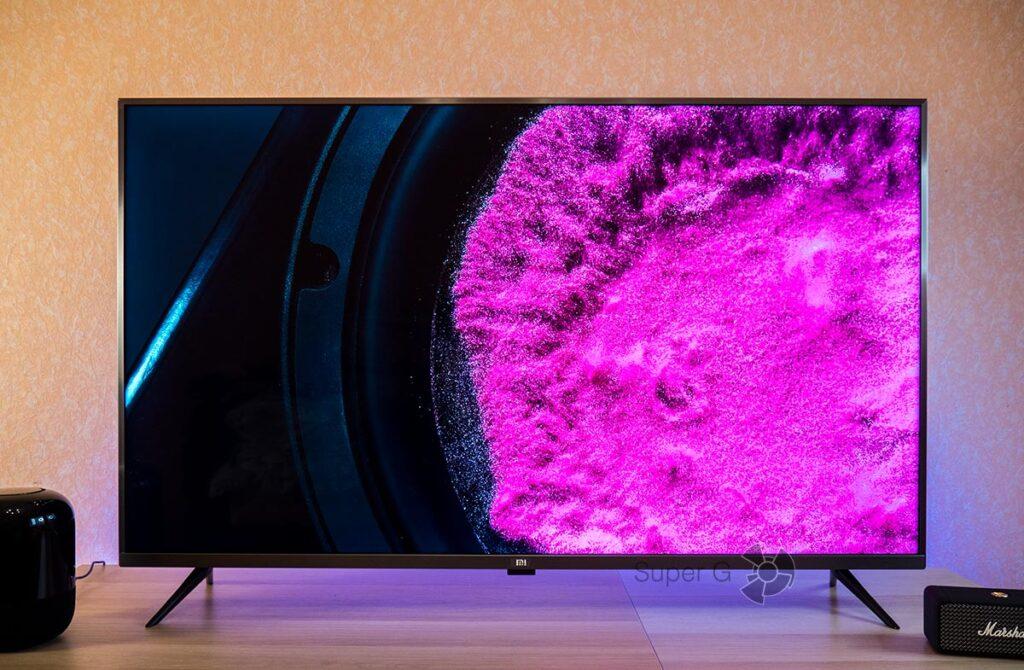 Xiaomi Mi TV 4S 55 качество изображения