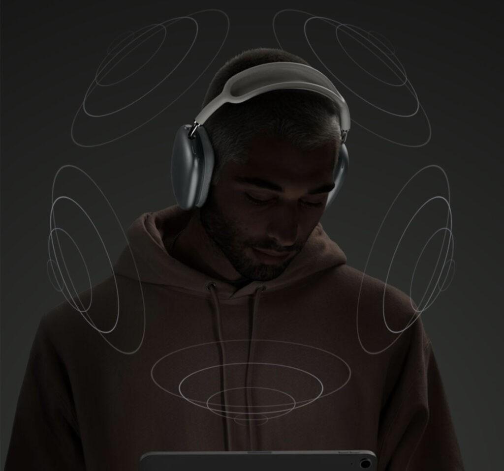 AirPods Max пространственное аудио