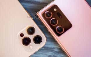 Сравнение камер iPhone 12 Pro Max и Samsung Note 20 Ultra