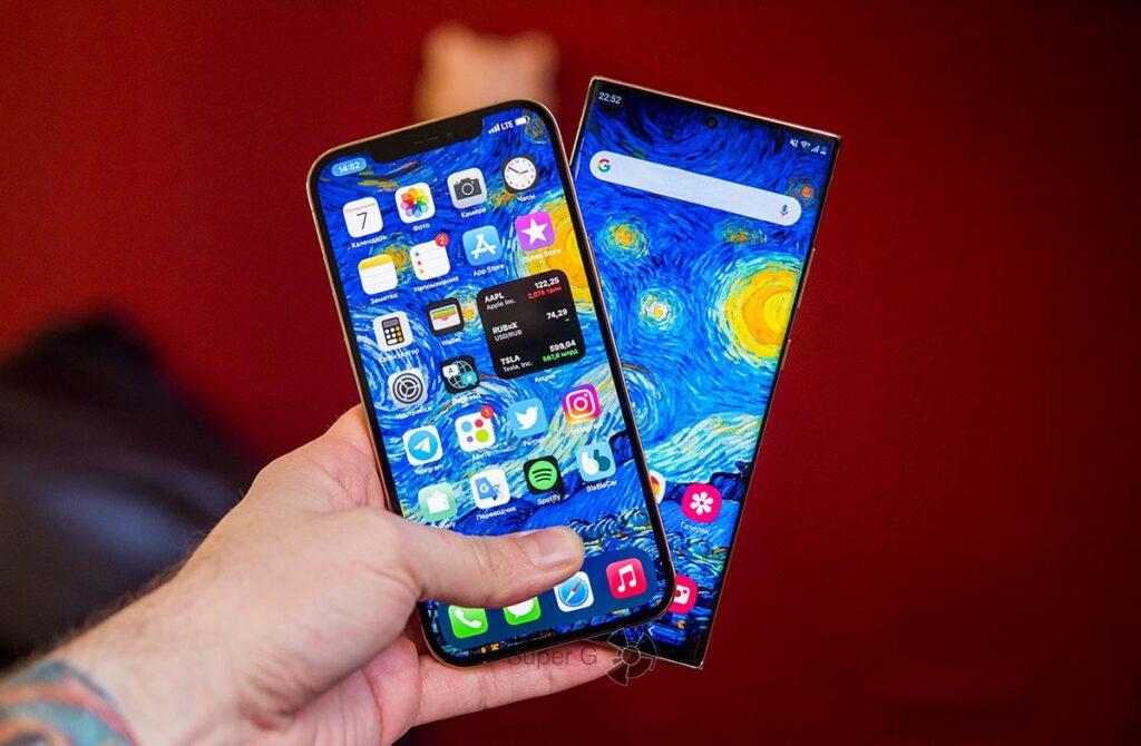 Сравнение камер смартфонов iPhone 12 Pro Max и Samsung Note 20 Ultra