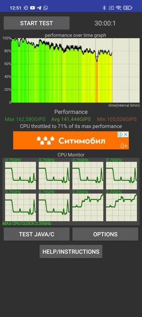 Poco X3 CPU Throtling