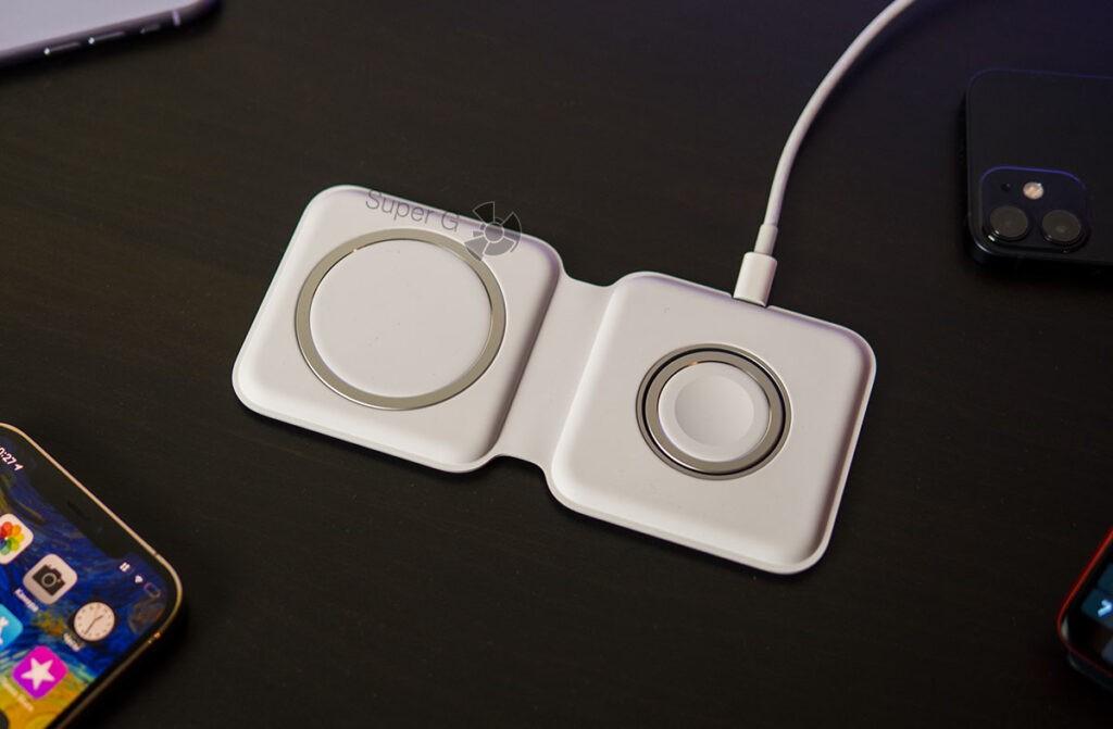 двойное зарядное устройство magsafe duo