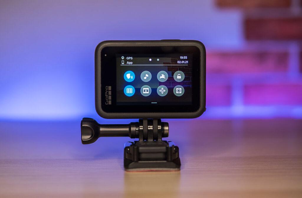 Настройка GoPro HERO 9 Black в основном через смартфона