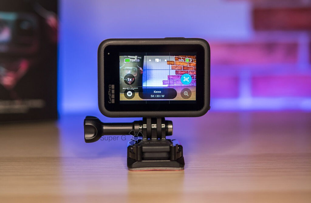 Основной экран GoPro HERO 9 Black стал больше на 16%