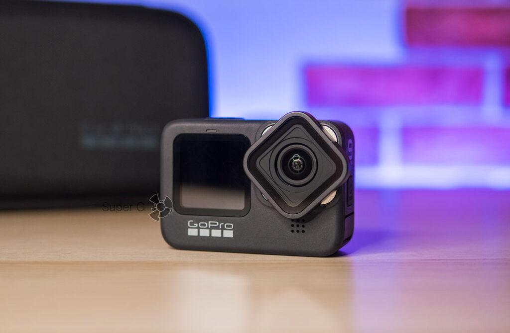 GoPro HERO 9 Black сменный объектив