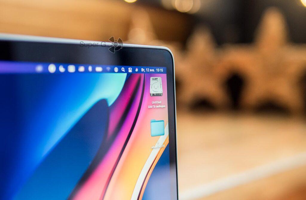 Размер жесткого диска MacBook Air 2020 512 ГБ