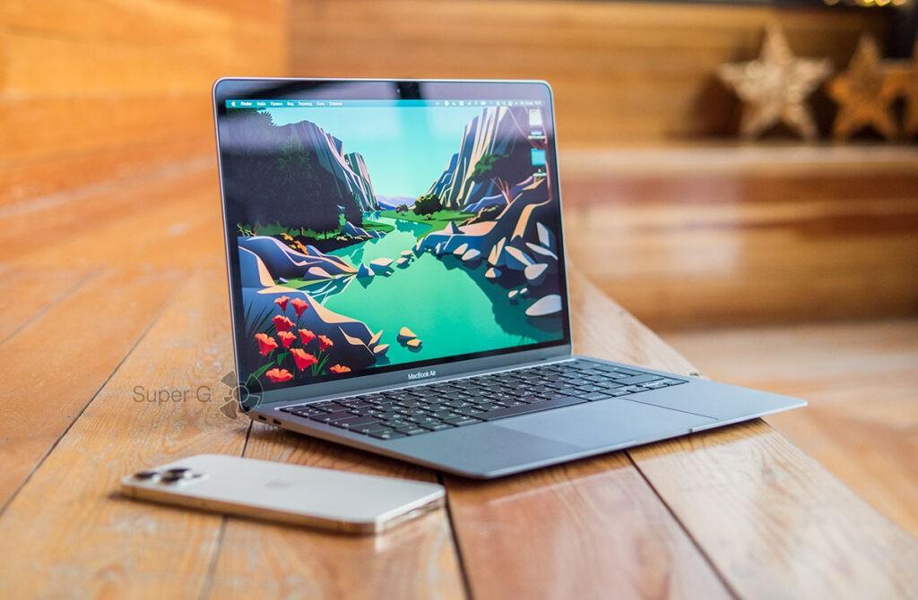 macOS Big Sur обновление MacBook Air 2020