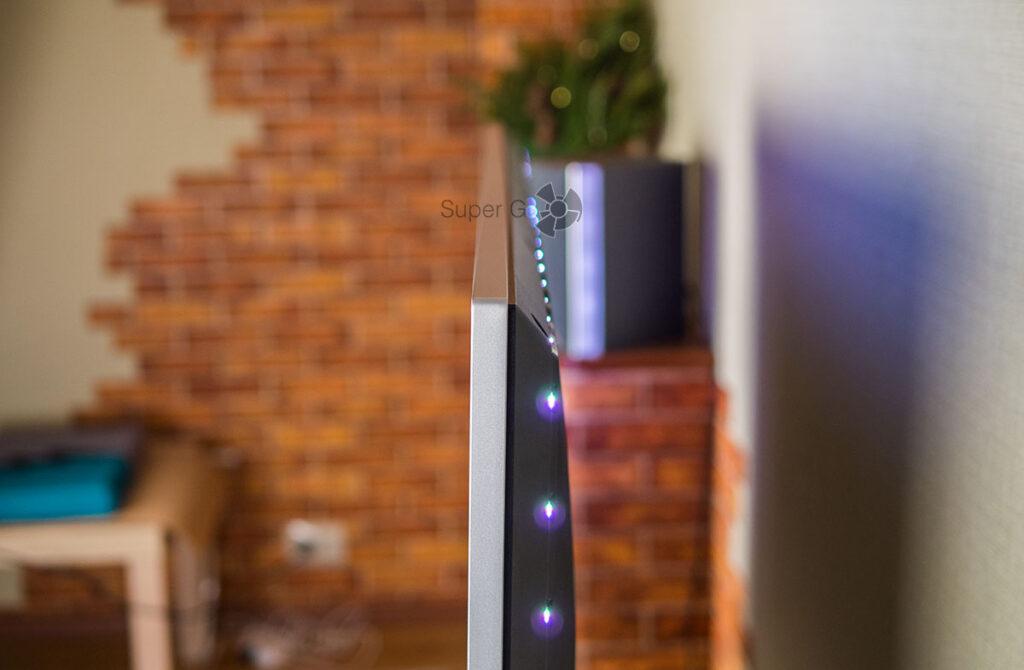 Philips 50POS8505 подсветка Ambilight