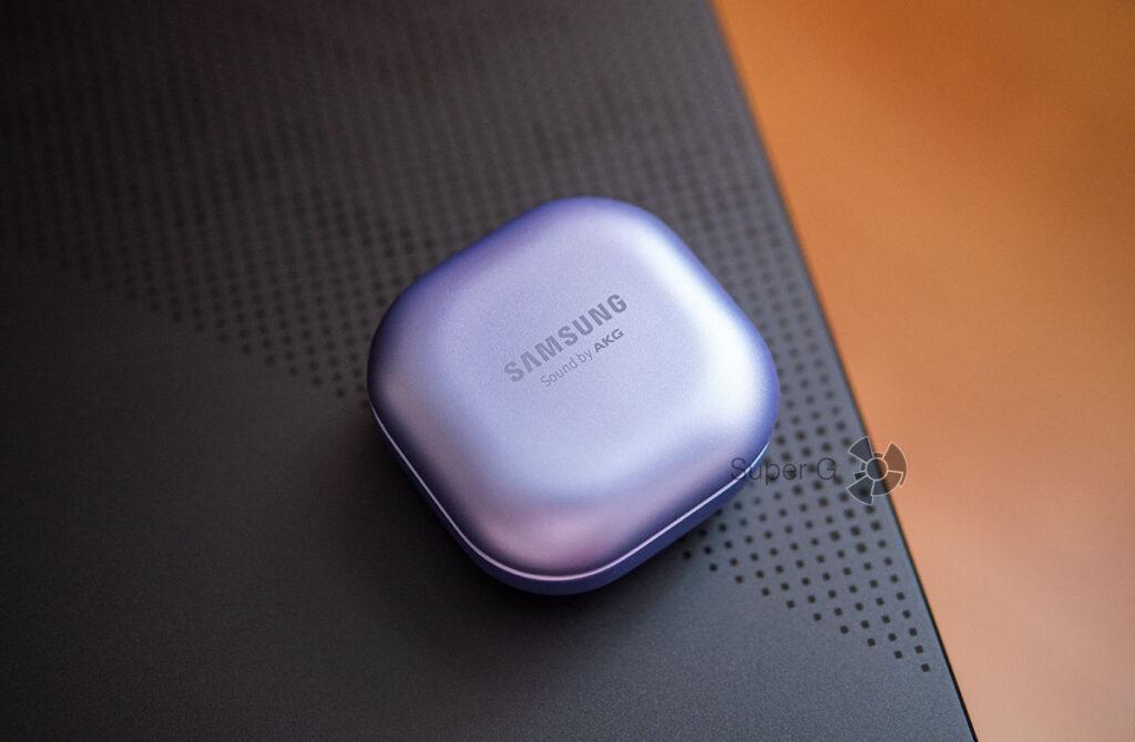 Кейс с беспроводной зарядкой Samsung Galaxy Buds Pro