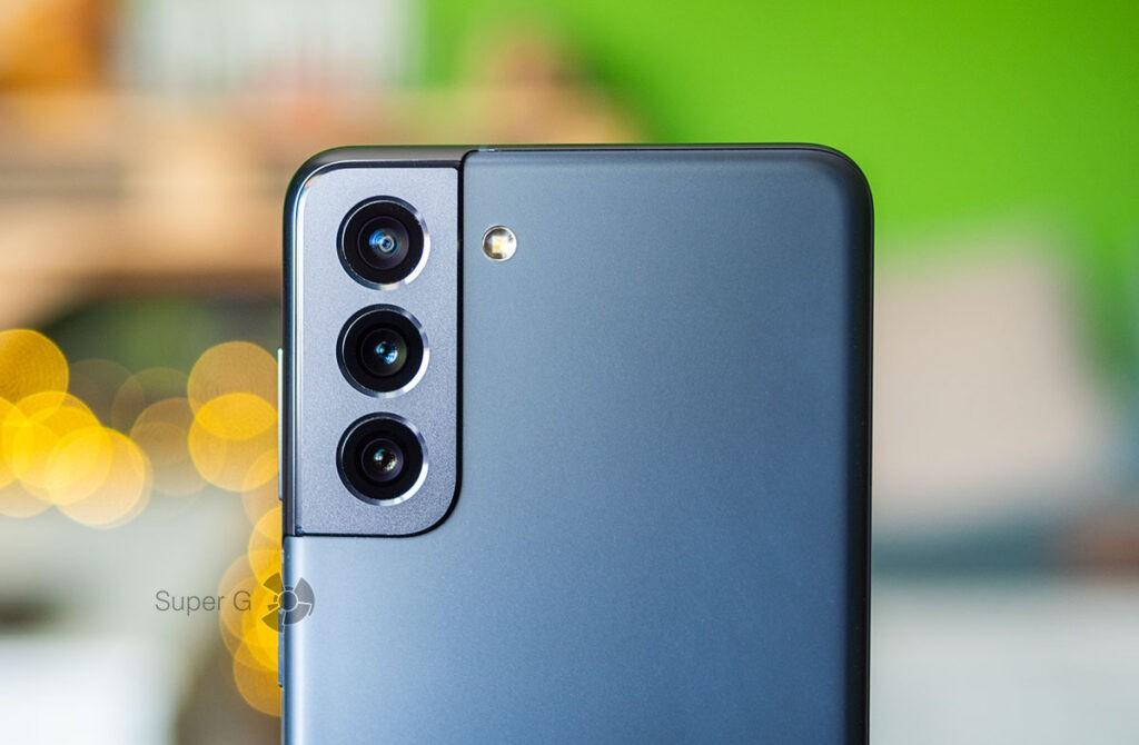 Samsung Galaxy S21 тест камер