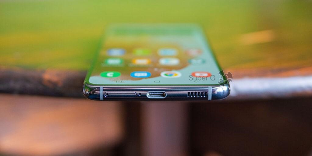Samsung Galaxy S21 разъёмы