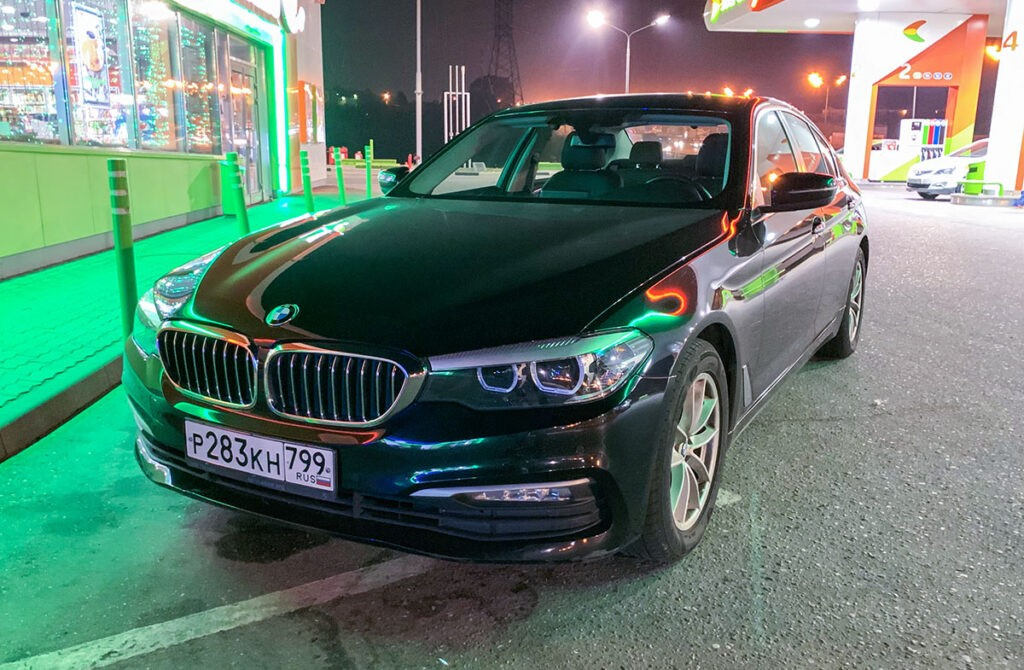 BMW 520i Яндекс Каршеринг