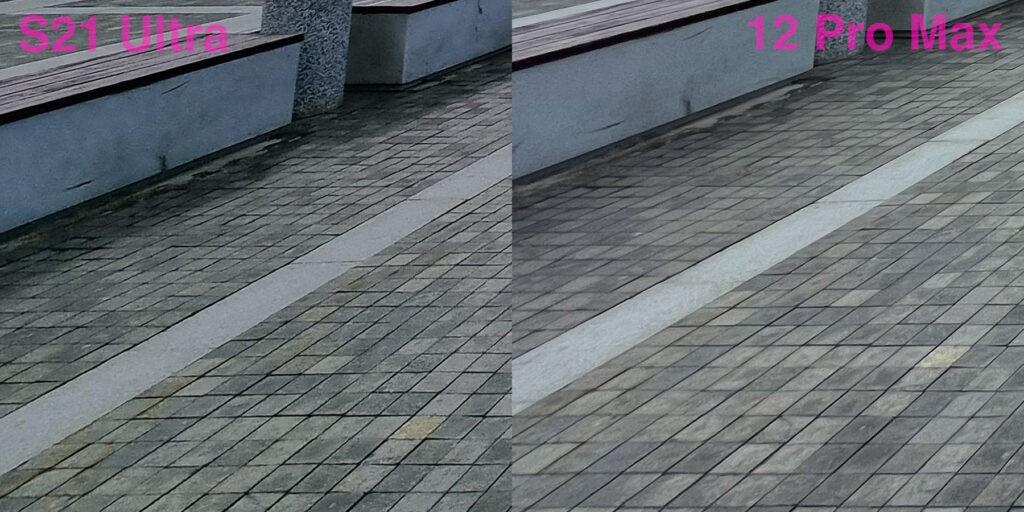 Сравнение качество фото с широкоугольной камеры Samsung S21 Ultra и iPhone 12 Pro Max (2)