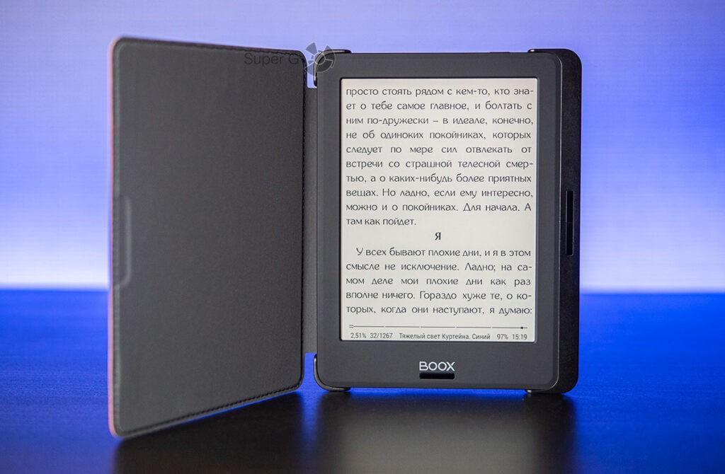Чтение ONYX BOOX Volta 2