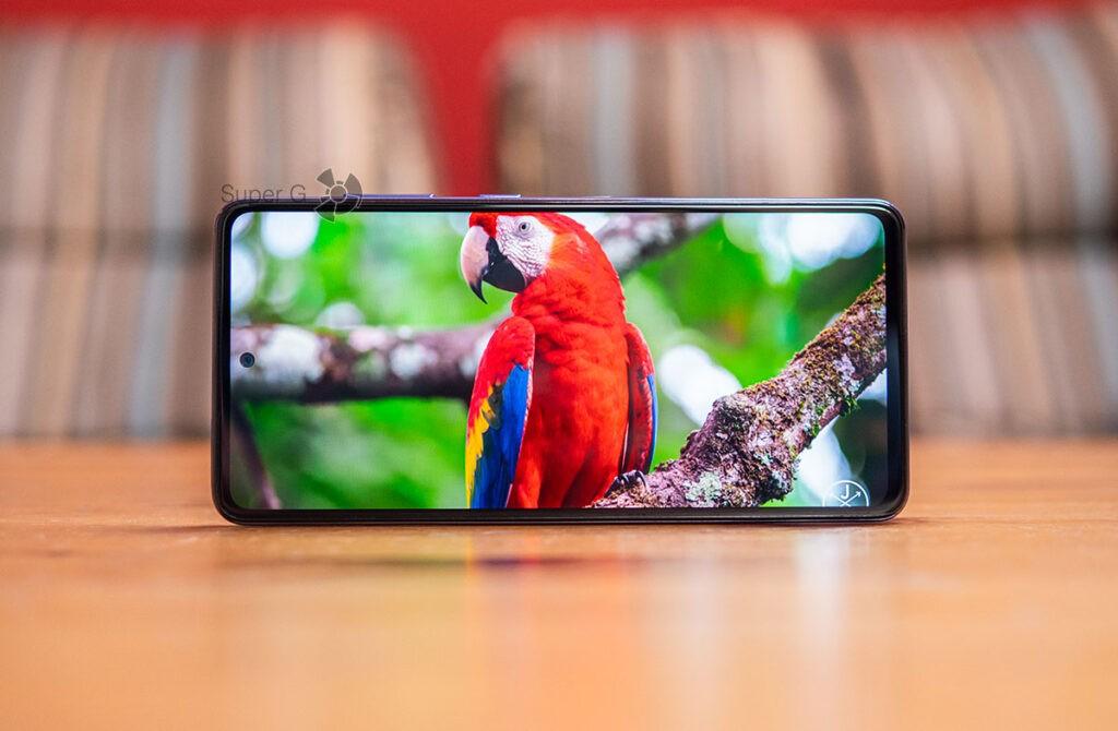 Samsung Galaxy A52 поддержка экраном HDR