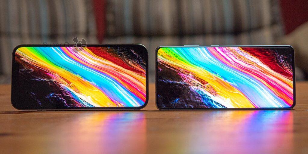 Samsung Galaxy S21 Ultra сравнение с iPhone 12 Pro Max