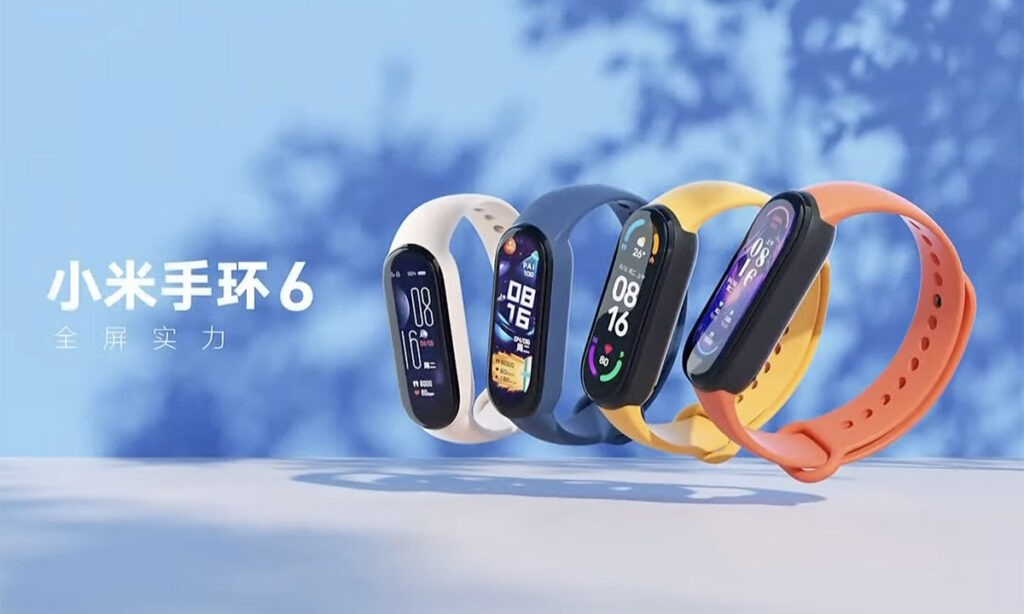 Xiaomi Mi Band 6 отличия