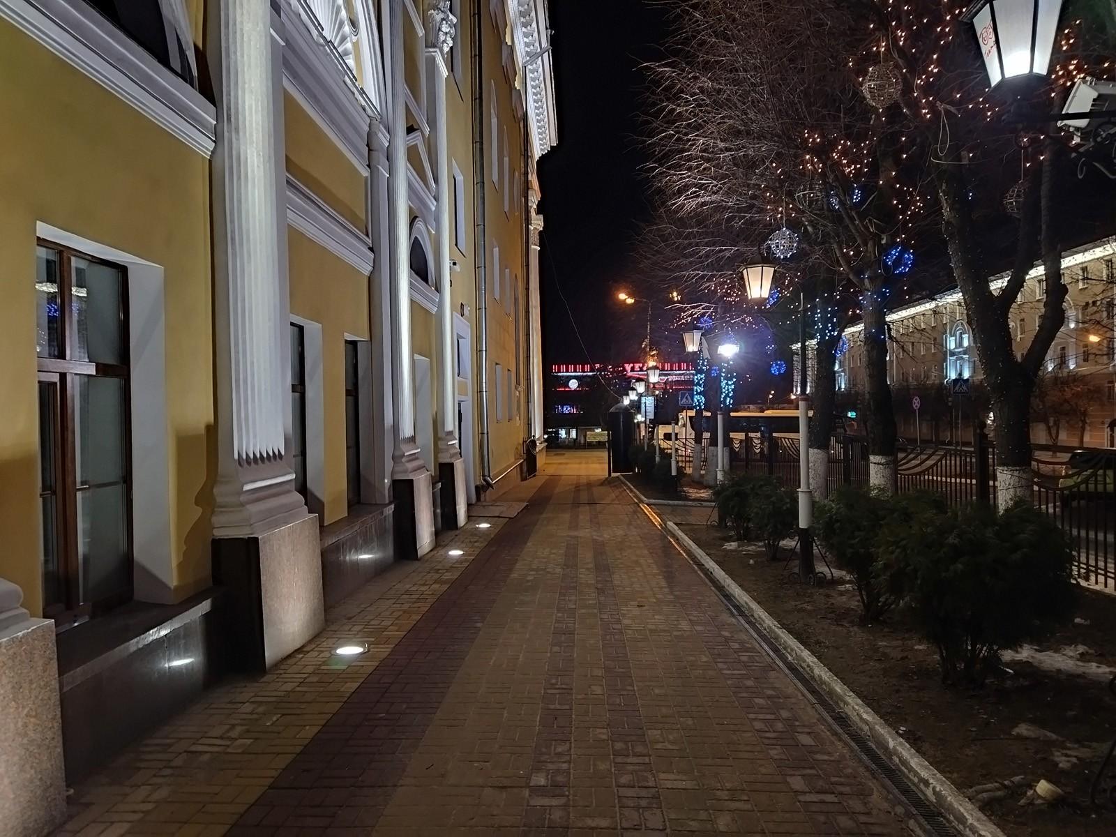 Ночная съёмка POCO M3