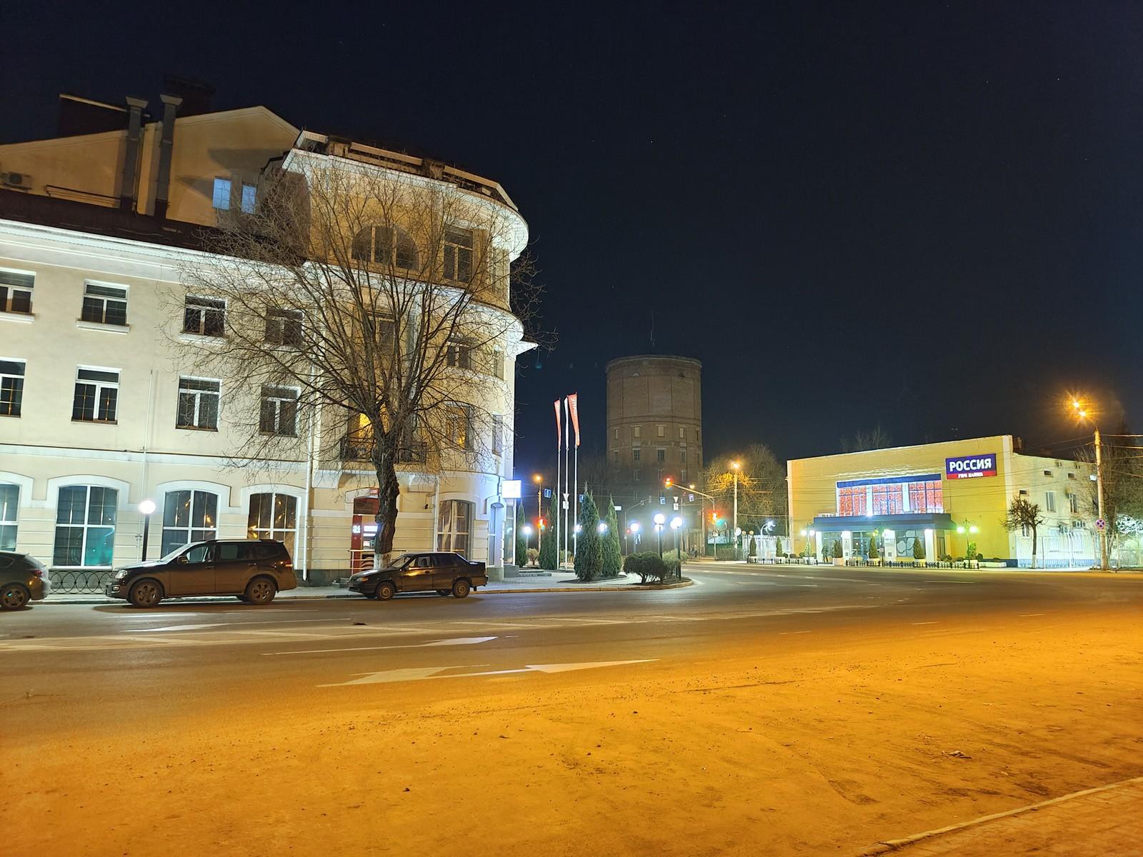 Ночное фото на Vivo X60 Pro