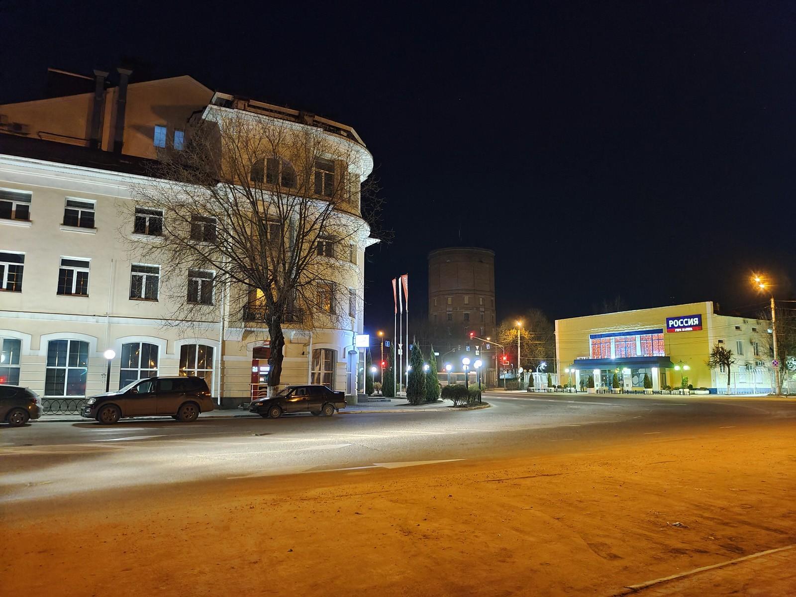 Автоматическая съёмка на камеру Vivo X60 Pro ночью