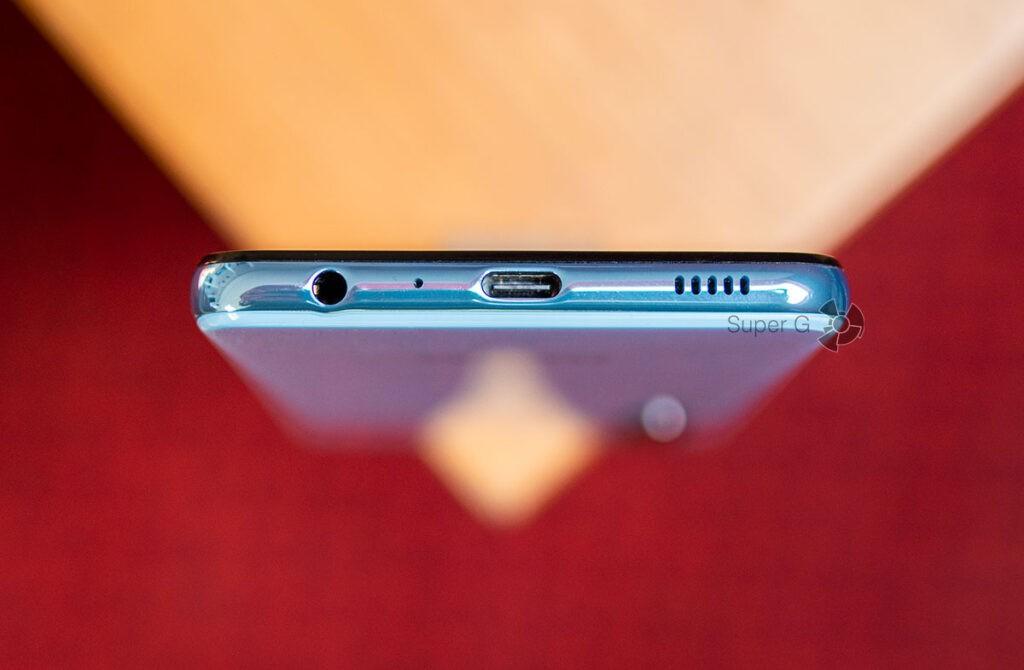 Разъёмы и звук Samsung Galaxy A32
