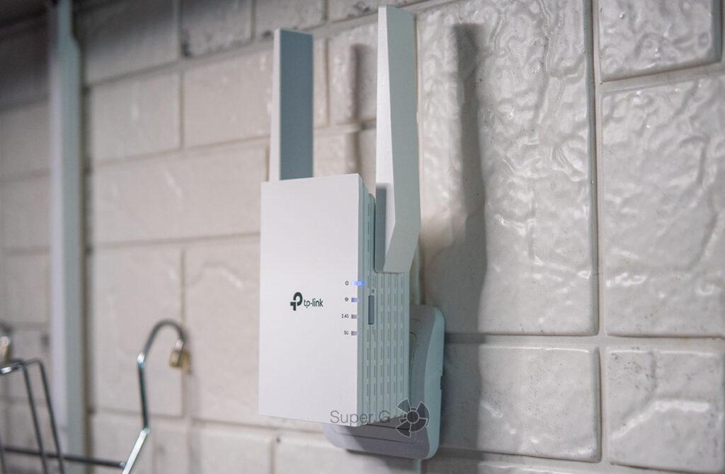 TP-Link RE605X Wi-Fi 6 репитер
