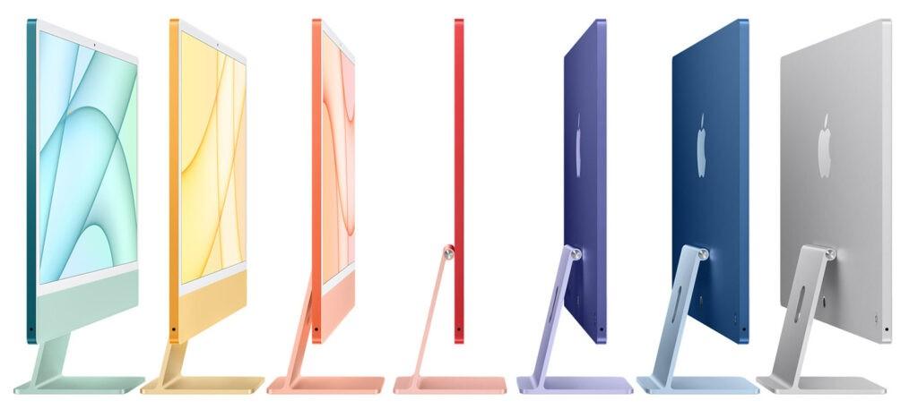 iMac 24 2021 цвета
