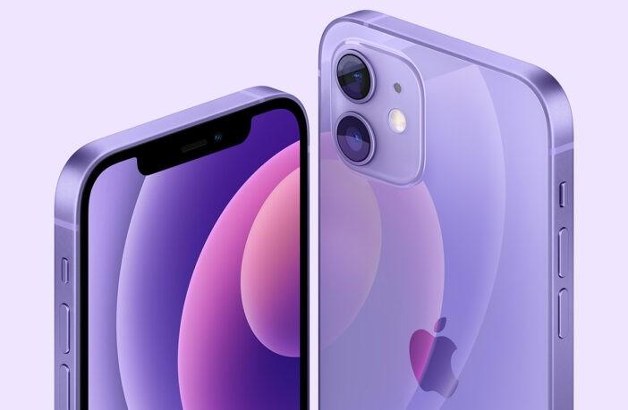 iPhone 12 в новом цвете — фиолетовом