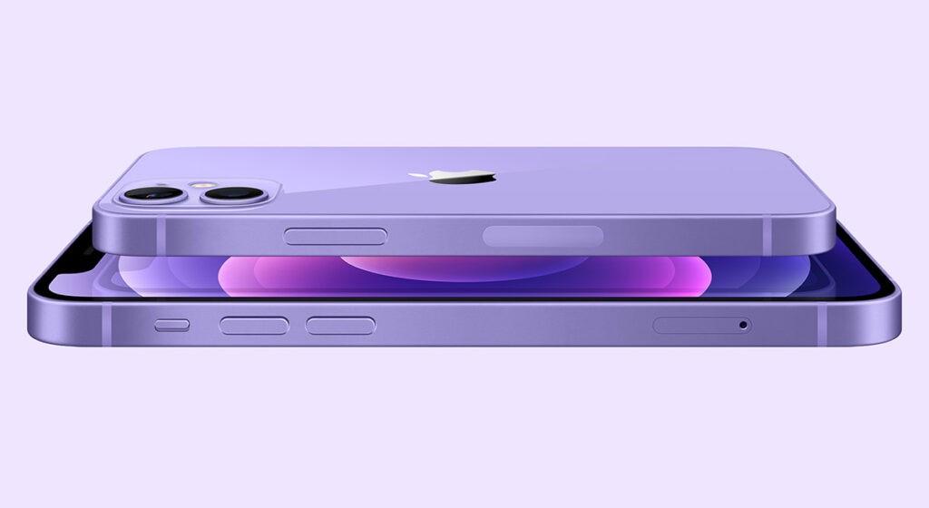 iPhone 12 и 12 mini фиолетовый