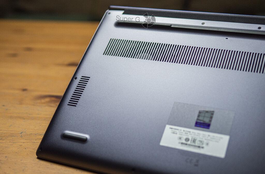 Honor MagicBook 15 2021 динамики снизу