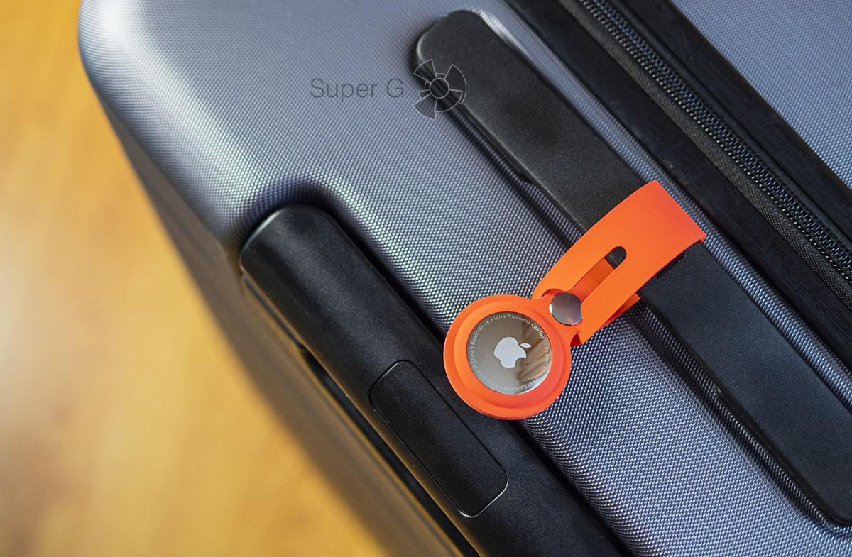 Подвеска Apple AirTag для чемодана