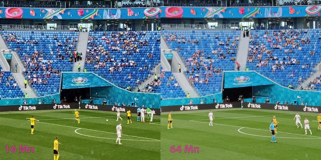 Compare 16 and 64 Mpxls camera Vivo V21