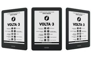 ONYX BOOX Volta 3 — комфортное чтение теперь и c Bluetooth