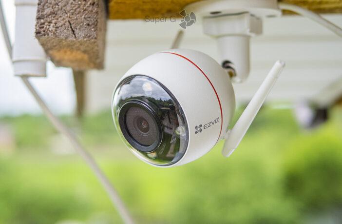 Обзор камеры для наружного наблюдения Комплект EZVIZ C3W Pro