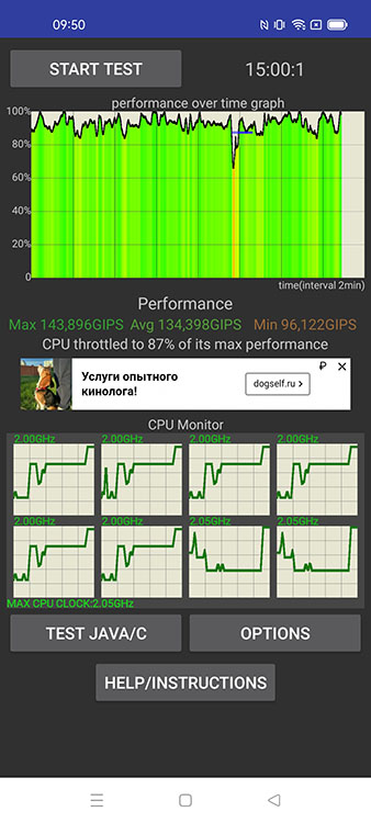 Realme 8 CPU Throttling