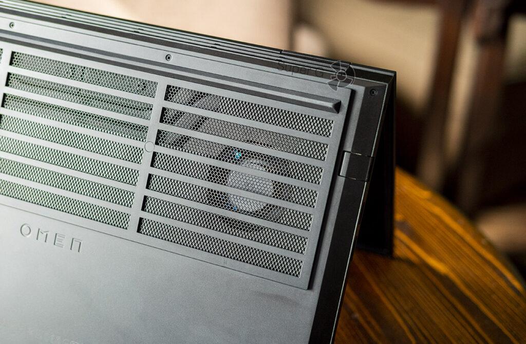 HP OMEN 15 система охлаждения