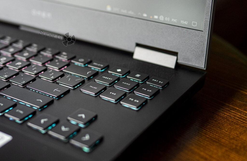 HP OMEN 15 клавиатура