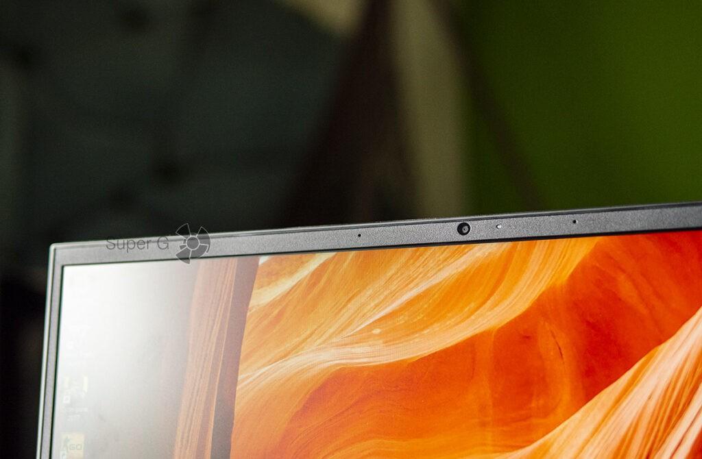 HP OMEN 15 дисплей и веб-камера