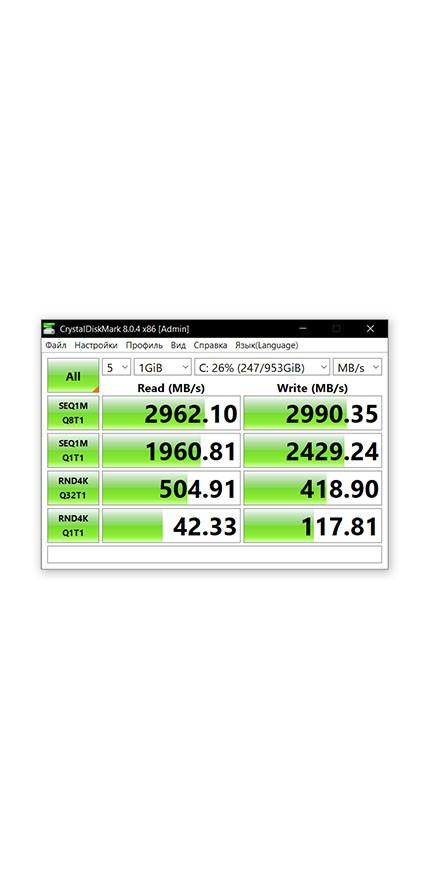 HP OMEN 15 Storage SSD