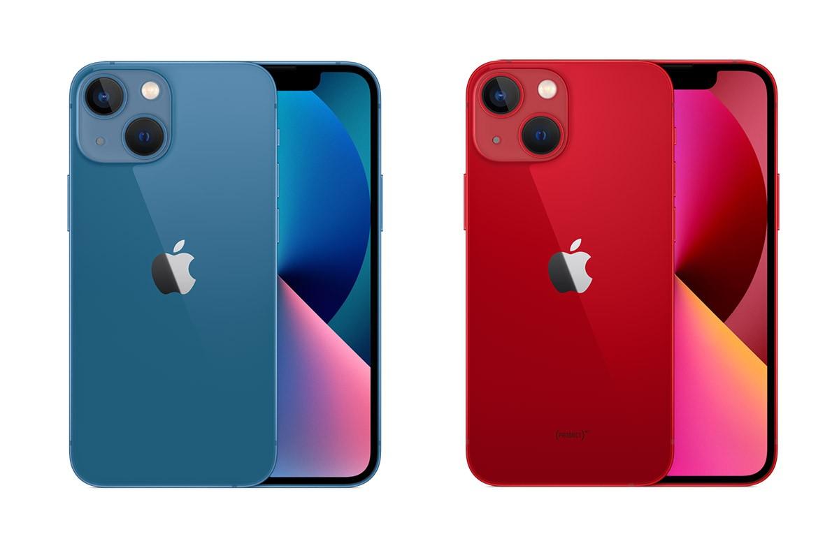 iPhone 13 синий