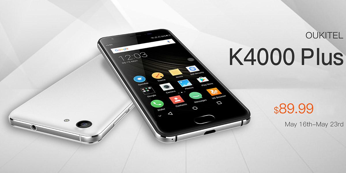 Старт продаж Oukitel K4000 Plus начался