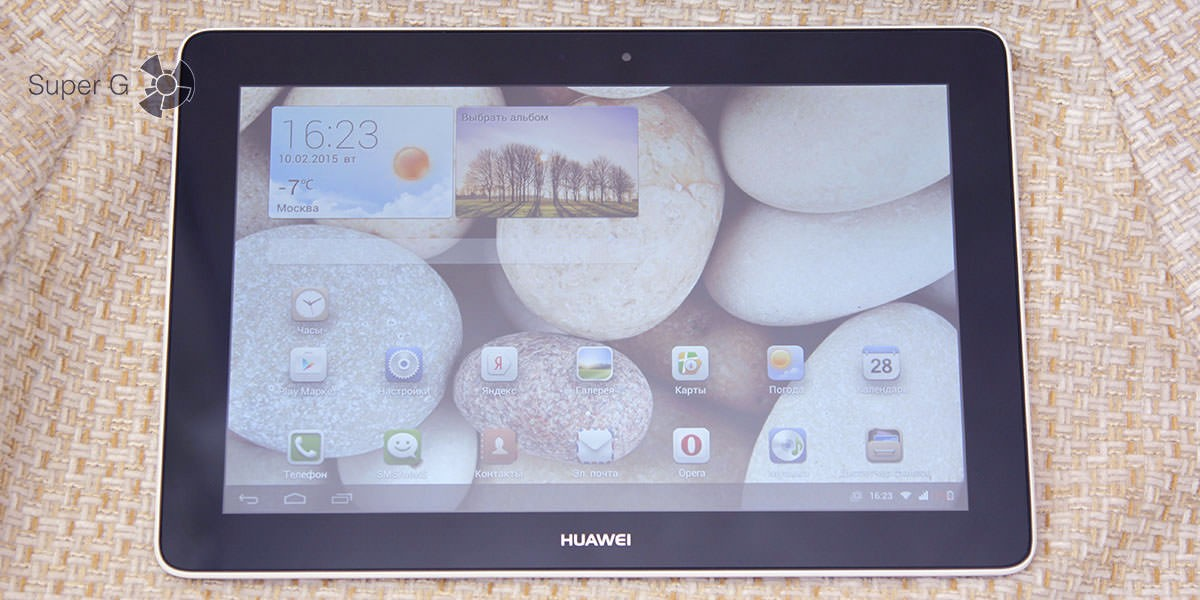 Обзор Huawei MediaPad 10 Link+