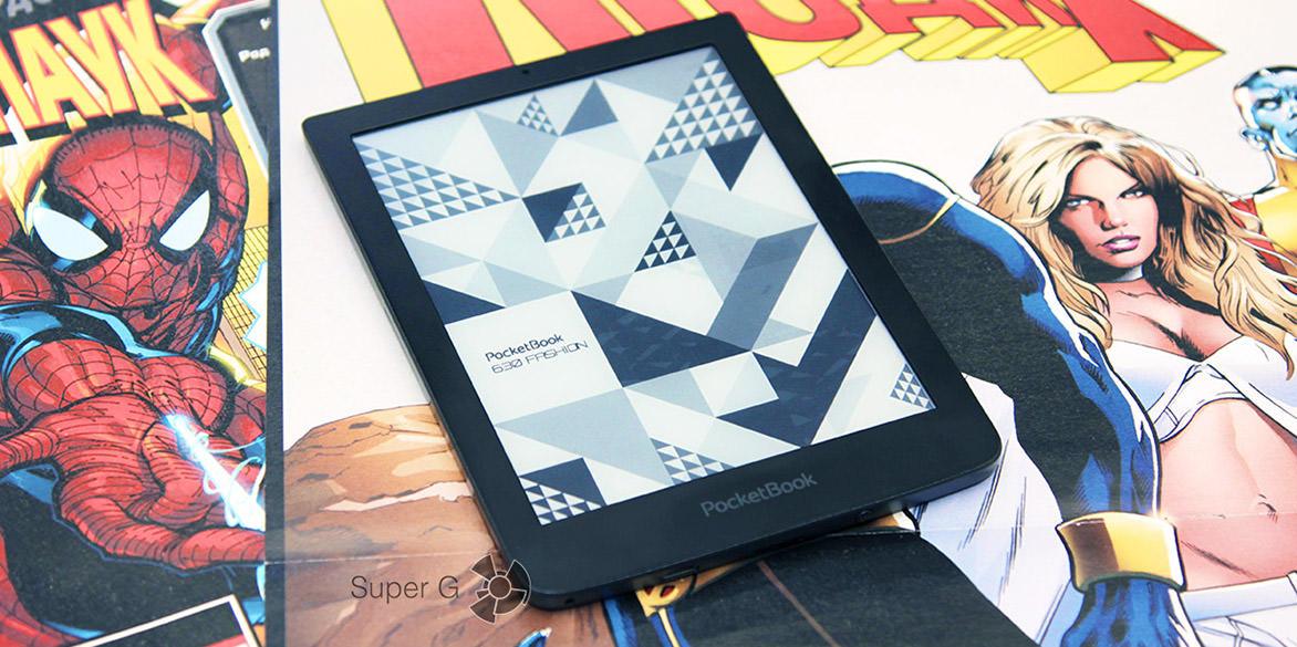Обзор PocketBook 630 Fashion
