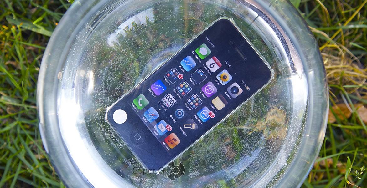 Подводная пленка для iPhone