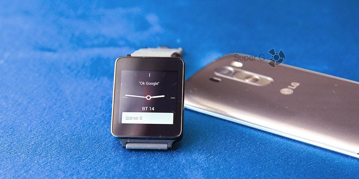 Обзор LG G Watch
