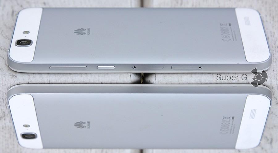 Боковые стороны Huawei Ascend G7