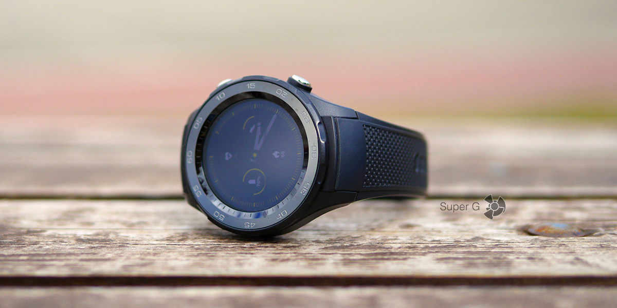 Обзор умных часов Huawei Watch 2 Sport LTE