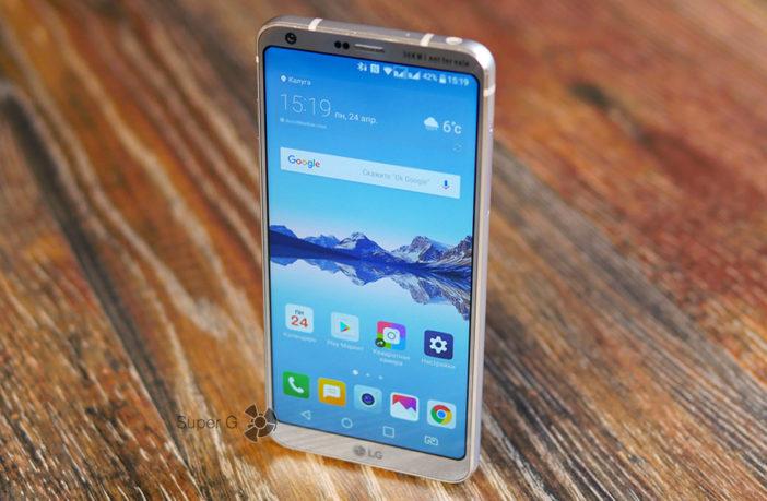 Большой и честный смартфона LG G6 - без рекламы