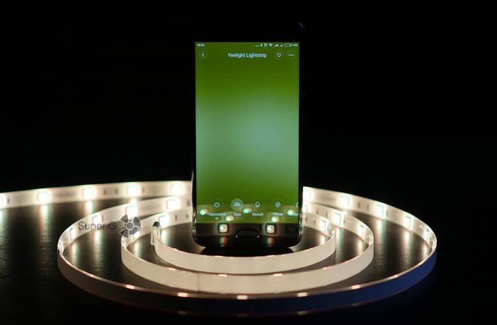 Отзывы о светодиодной ленте Xiaomi Yeelight Lightstrip